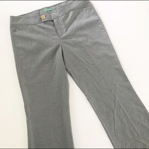 Lilly Pulitzer gray Palm Beach Fit trouser…